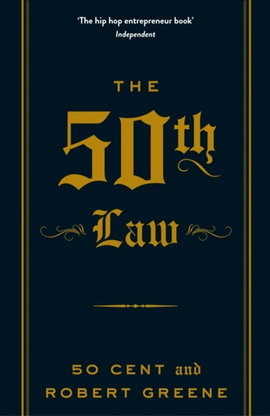 Boek cover The 50th Law van 50 Cent (Paperback)