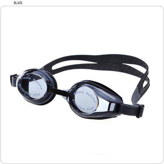 588d34f7d152cf Duikbril - Zwembril - Zwembrilletje - Zwarte zwembril met transparante  glazen - Premium artikel