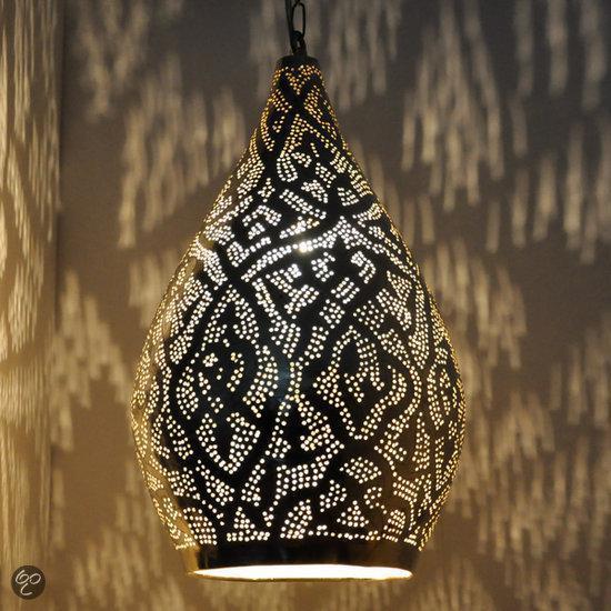 Nour Lifestyle Arabische hanglamp Nile met Oosters patroon - maat L