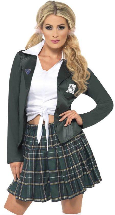 Schooluniform met rokje en top - Maat 40-42