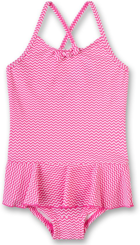 Badpak Maat 92.Bol Com Sanetta Meisjes Badpak Kind Pink Maat 92