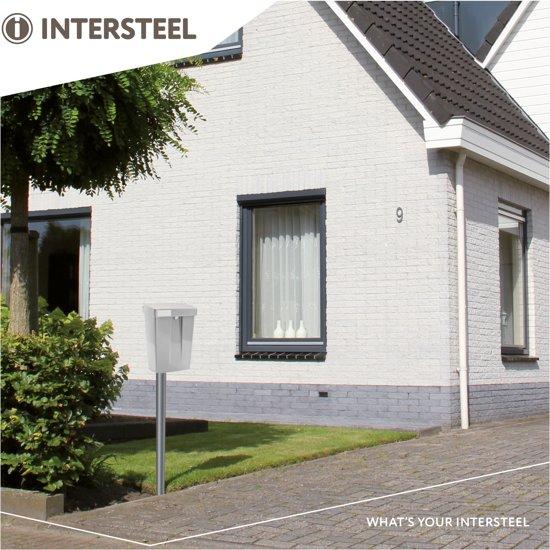 Intersteel Summus Brievenbus - Zilver