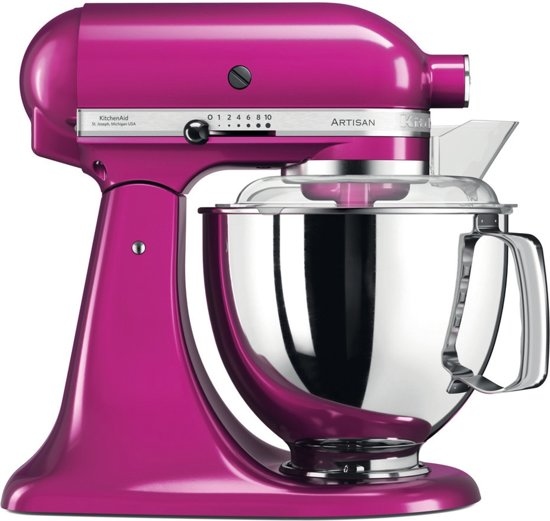 Kitchenaid 5KSM175PS - Keukenmachine - Raspberry Ice