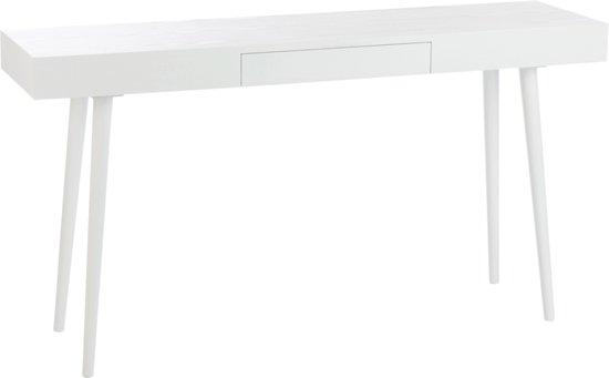 Witte Houten Sidetable.Bol Com J Line Sidetable Esmee Wit Hout 80 X 150 X 40