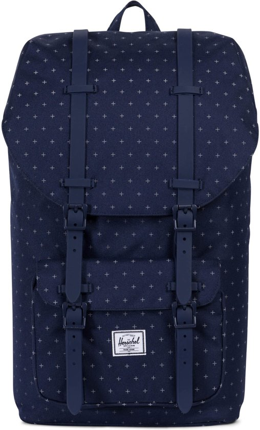 75386cf3cf9 bol.com | Herschel Supply Co. Little America Rugzak - Peacoat ...