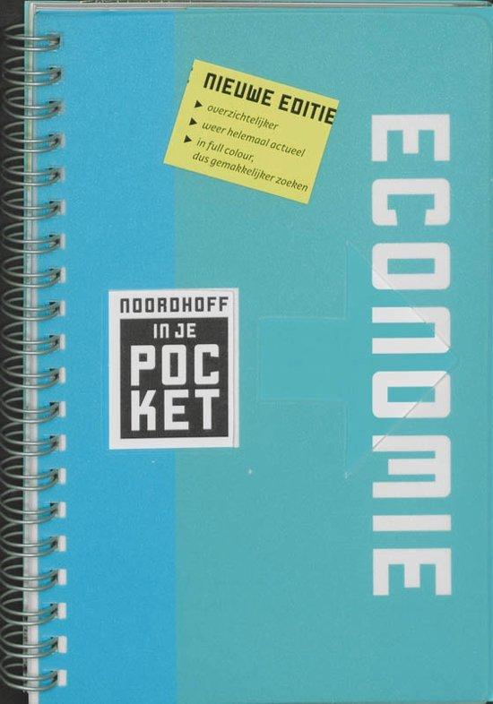Boek cover Noordhoff in je pocket Economie van Jacqueline de Jong (Paperback)