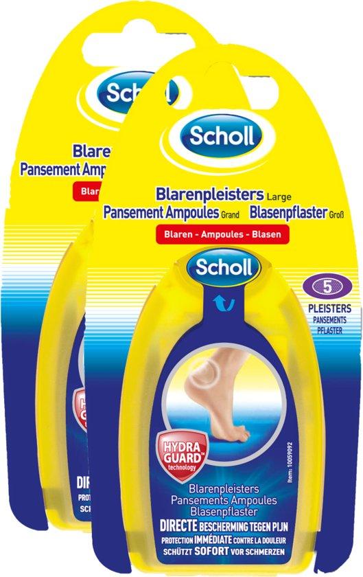 Scholl Blarenpleister Hiel - 2 x 5 stuks - Grootverpakking