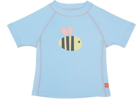 Lässig UV werend Zwemshirt Kinderen Bumble Bee - Lichtblauw - maat 12M (68-80)