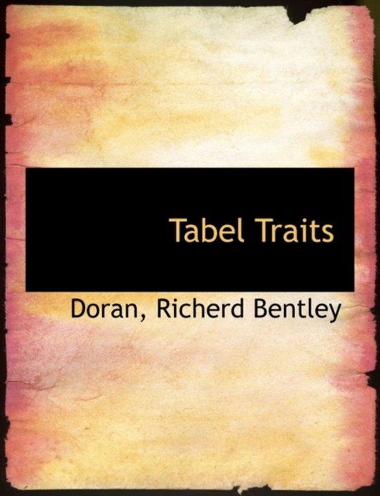 Tabel Traits