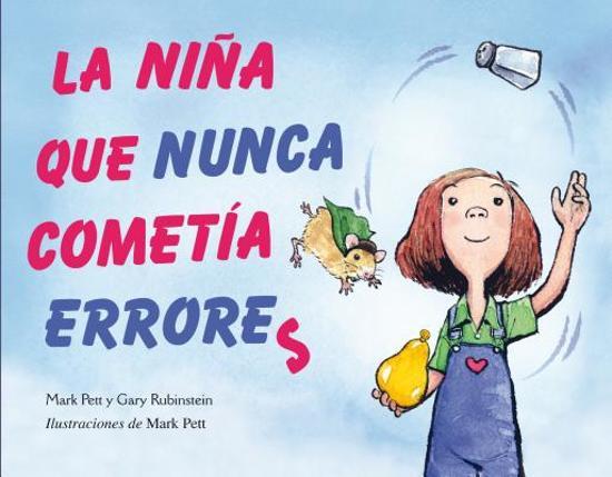 Boek cover La Nina Que Nunca Cometia Errores van Mark Pett (Hardcover)