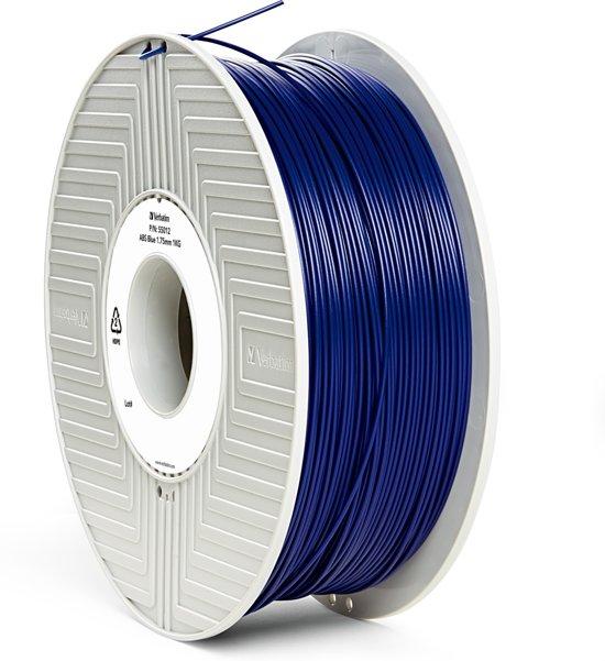 Verbatim 55012 3D Printer Filament ABS 1.75mm 1kg Blauw