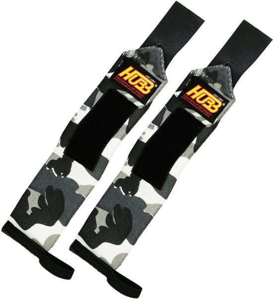 AA Products - Pro Wrist Wraps Voor Fitness Gym Sporten Heavy Weight - Unisex - One Size- Camo