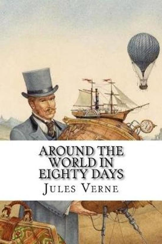 an analysis of the story around the world in 80 days Literary analysis, jules verne - around the world in eighty days.