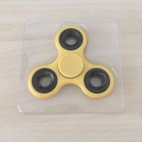 Fidget Spinner (Hand Spinner) Kleur Geel