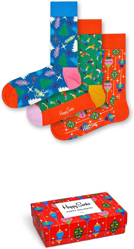Happy Socks Singing Retro Holiday Giftbox - Maat 36-40