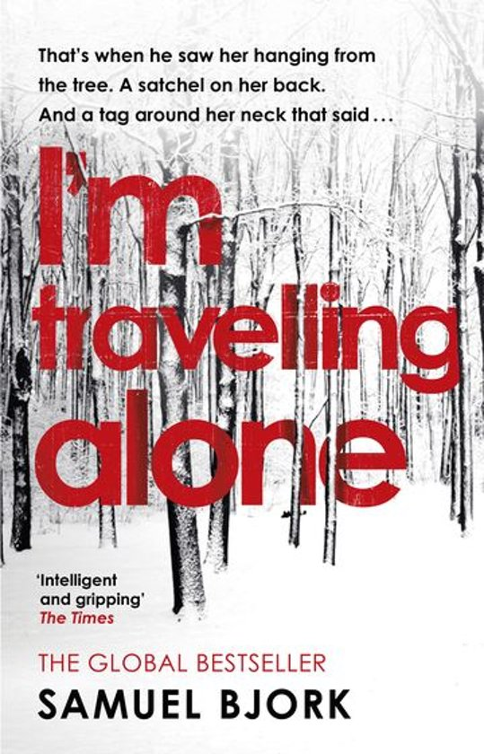 Boek cover Im Travelling Alone van Samuel Bjørk (Onbekend)