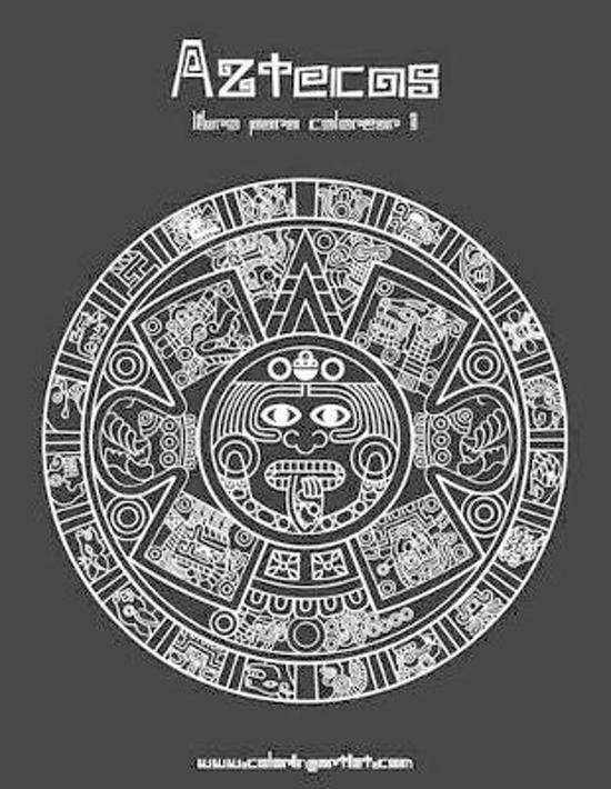 Aztecas Libro Para Colorear 1