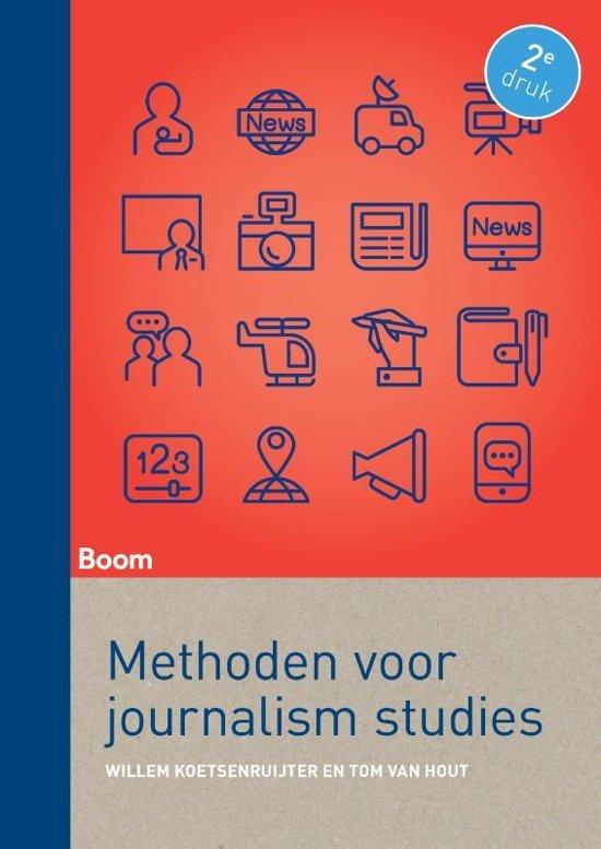 Boek cover Methoden voor Journalism Studies van Willem Koetsenruijter (Paperback)