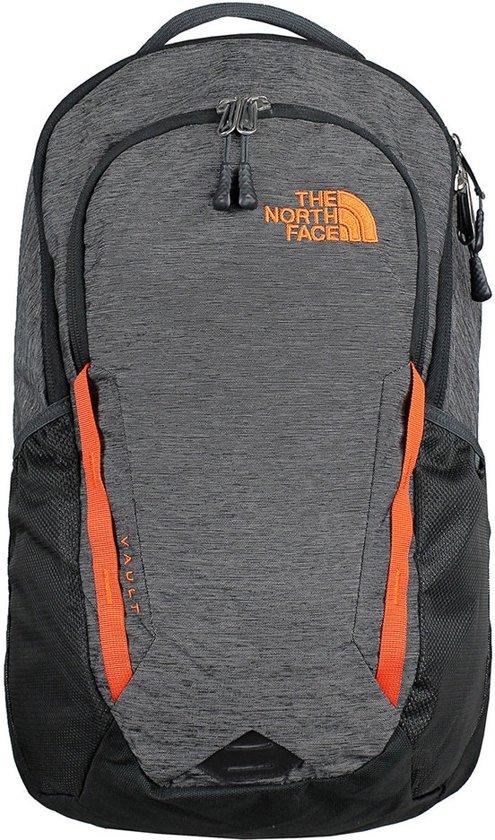 e3e65d1ba The North Face Vault Backpack TNF Dark Grey Heather/Persian Orange