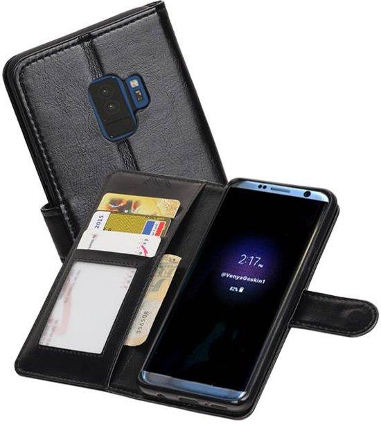Sâ Portefeuille Noir ¢ Booktype Pour Samsung Galaxy S9 FC8L66