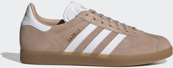 adidas Gazelle Heren Sneakers - Ash Pearl S18/Ftwr White/Gum 3 - Maat