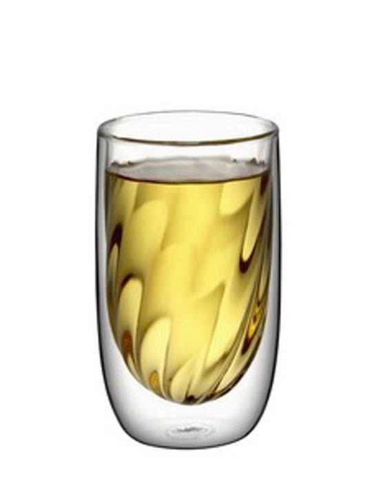 QDO Elements Koffie- & Theeglazen - 2 Stuks - Dubbelwandig - Fire - 400 ml