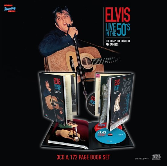 Live In The 50's-Cd+Book-