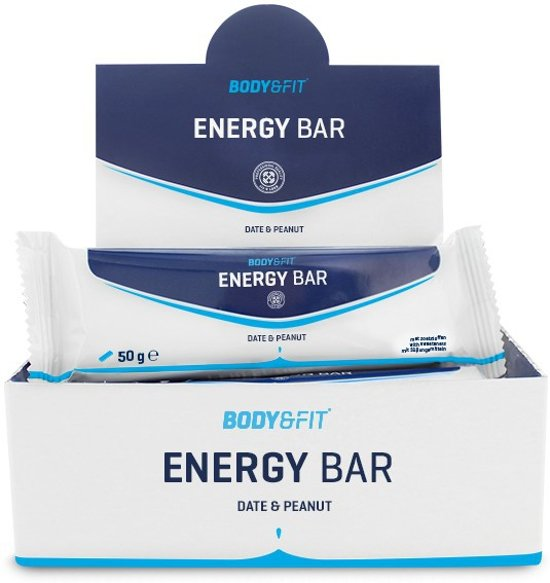 Body & Fit Energy Bars - Energiereep - Dates & Peanuts