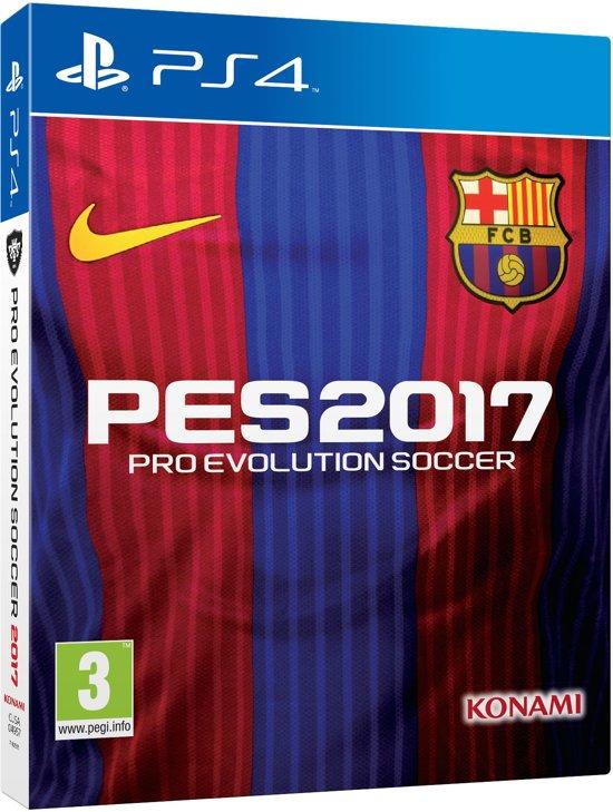 Pro Evolution Soccer 2017 (PES2017) - Barcelona Edition - PS4