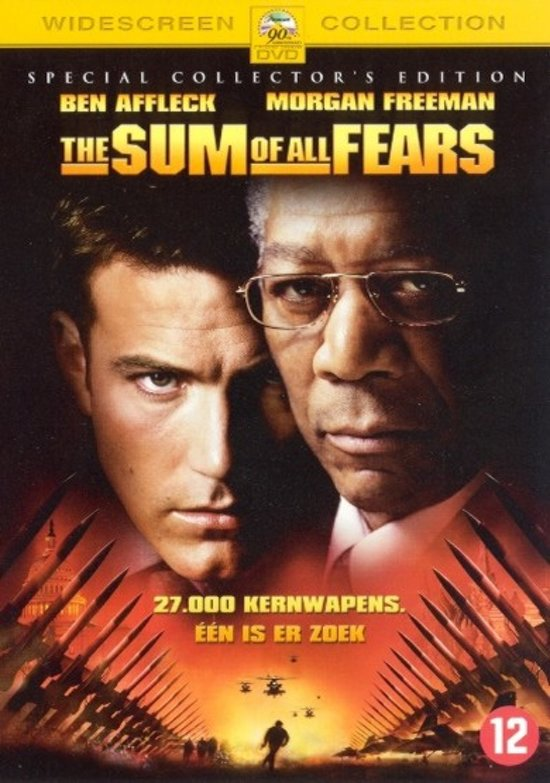 Cover van de film 'Sum Of All Fears'