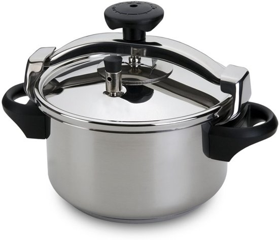 Silampos traditional snelkookpan, 4,5l
