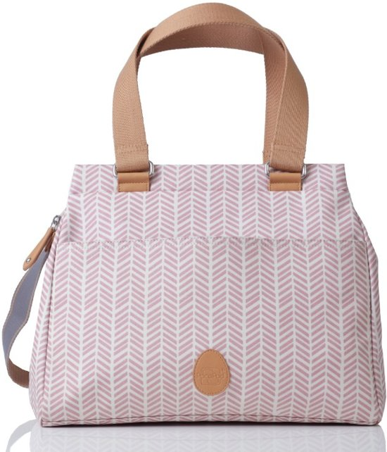 PacaPod Richmond - 3-in-1 Verzorgingstas  - Dusty pink herringbone