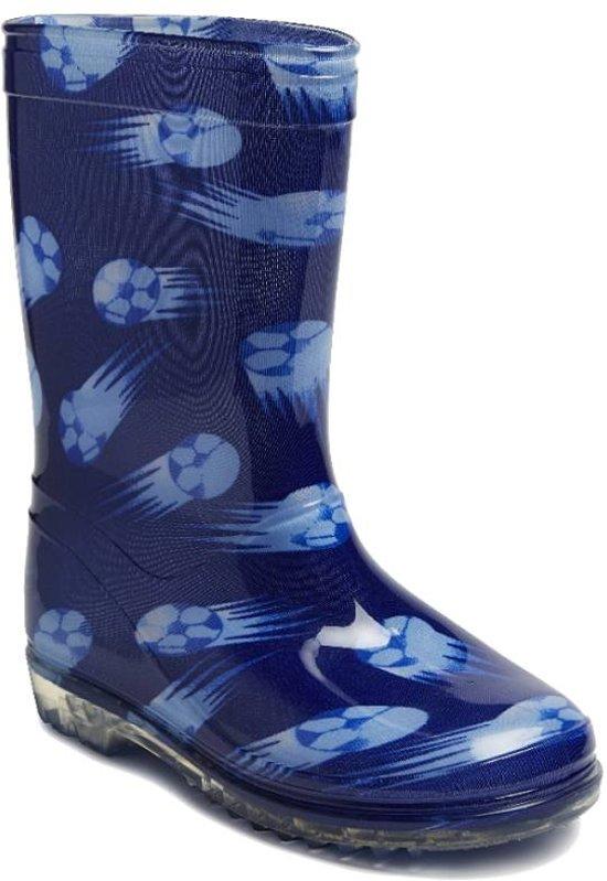 Gevavi Boots Football PVC Blauw Kinderlaarzen 30