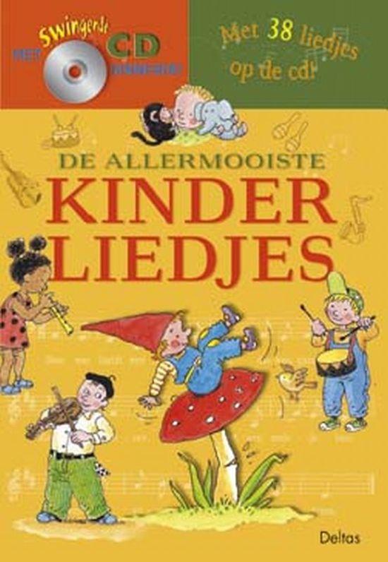 Cover van het boek 'De allermooiste kinderliedjes + CD'
