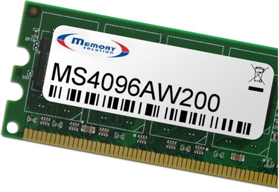 Memory Solution MS4096AW200 4GB geheugenmodule