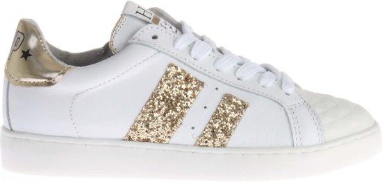 274547d7464 bol.com   Witte HIP H1732 Sneaker Met Gouden Glitters