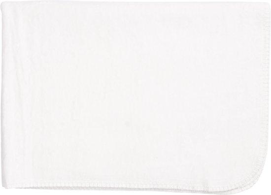 Meyco Basic Uni Wiegdeken - 75x100 cm - Wit