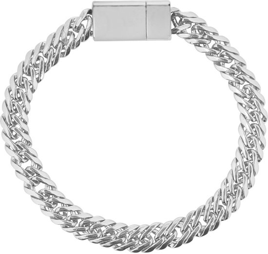 Armband lovely women zilverkleurig / met magneetsluiting/ hippe dames armband