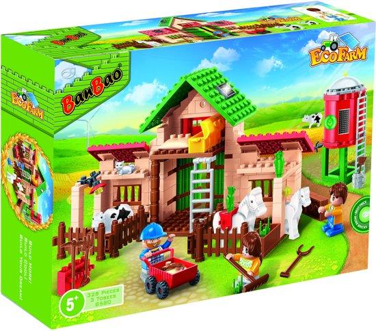 69907070ae11c9 bol.com | BanBao Eco Boerderij Boerderijleven - 8580, BanBao | Speelgoed