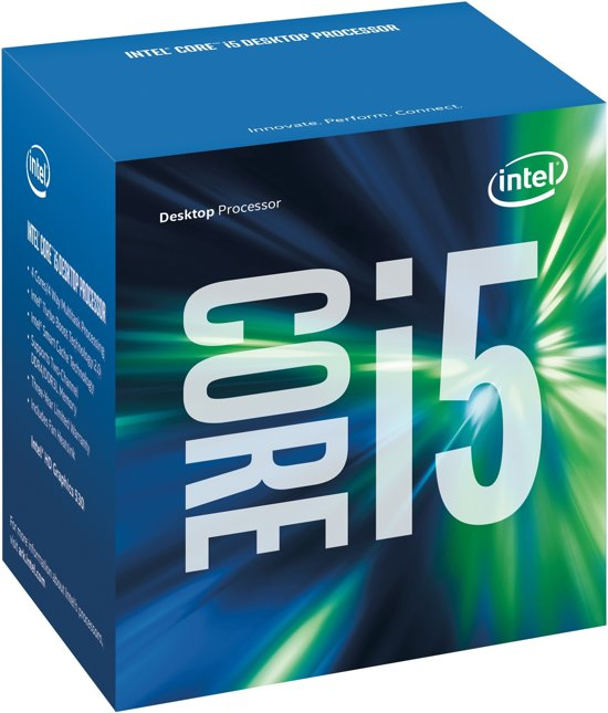 CPU Intel 1151 i5-6600 Ci5 Box (3,3GHz)
