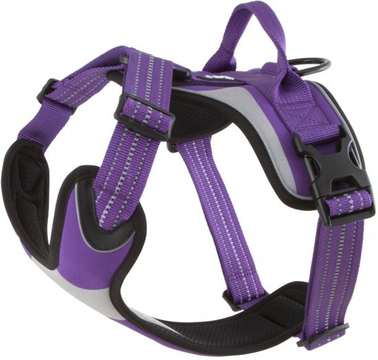 Hurtta Dazzle padded harness hondentuig-Paars