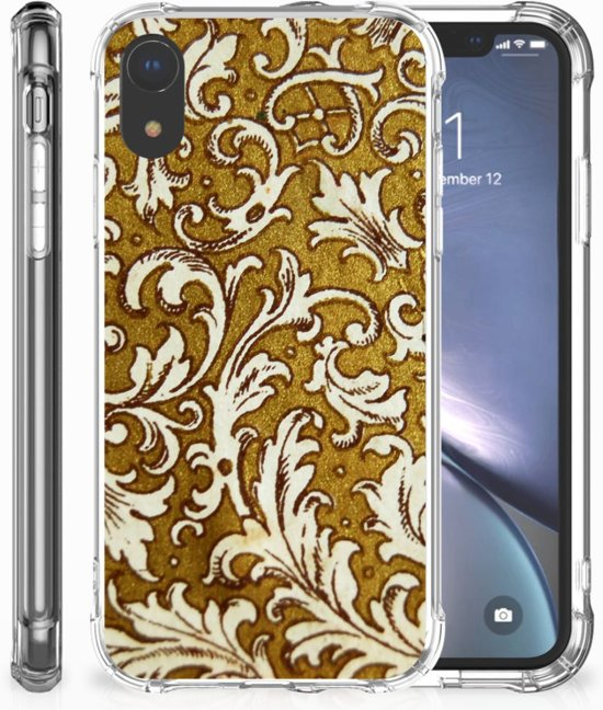 iPhone XR Shockproof Case Barok Goud