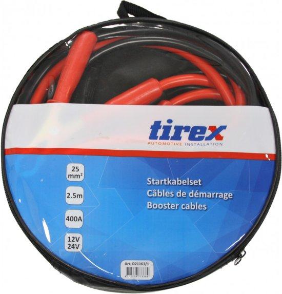 Tirex Startkabelset in hoes 16 mm 2.3 m 300 Ampere 12/24Volt