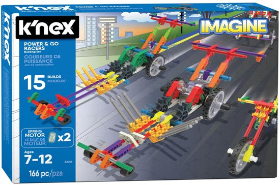 Knex Building Sets - Power & Go Racers