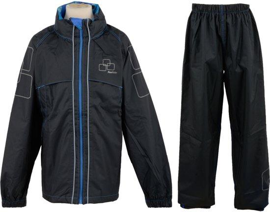 Fastrider - Regenpak - Kinderen - Maat 152 - Zwart
