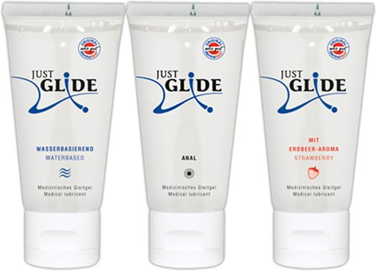 Just Glide Glijmiddel Mix 3 x 50 ml