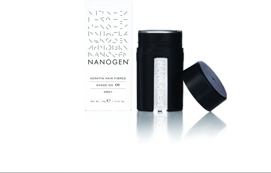 Nanogen Fibers 15 gram kleur Grijs