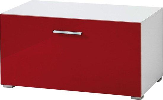 Tv Meubel Rood : Tv meubel spacy rood hoogglans cm a vendre ememain be