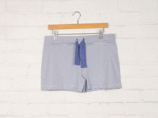 74647905536 bol.com | Yumeko pyjama short dames blue stripe L