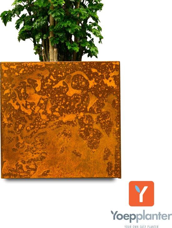 Grote Plantenpot Binnen.Yoepplanter Plantenbak 3x Innovatie Koppelbare Verrijdbare En Wisselbaar Design Grote Bloembak Bloempot Plantenpot Binnen Buiten Tuin Terras